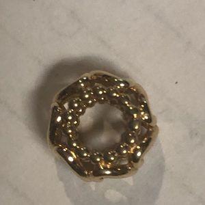 Pandora 14k gold bead